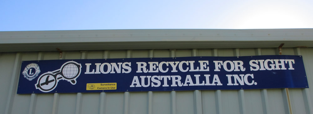 The Lions Eyeglass Recycling Centre